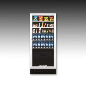 Køb Aria M Slave | 3-i-1 slik-, snack og kaffeautomat | Kaffemøllen A/S