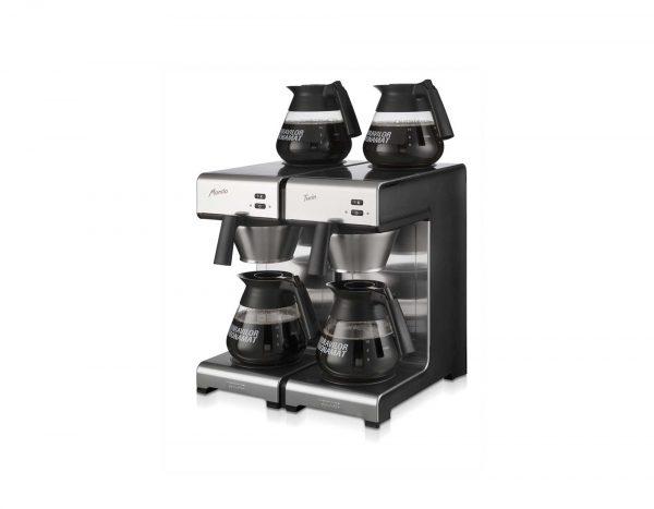Køb Bonamat Mondo Twin hos Kaffemøllen A/S. Kaffemaskiner til små og store erhverv. +250 produkter. Levering til døren. Garanti for god service.