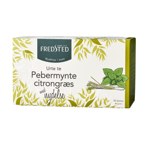 Fredsted Pebermynte Citrongræs urte te