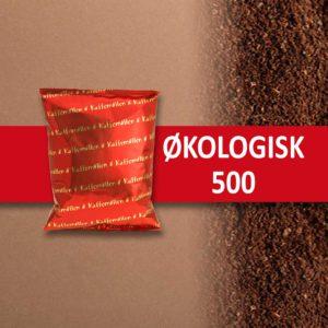 Økologisk 500 gr malet kaffe